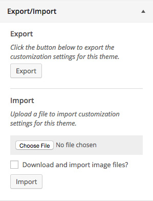 customizer-export-import