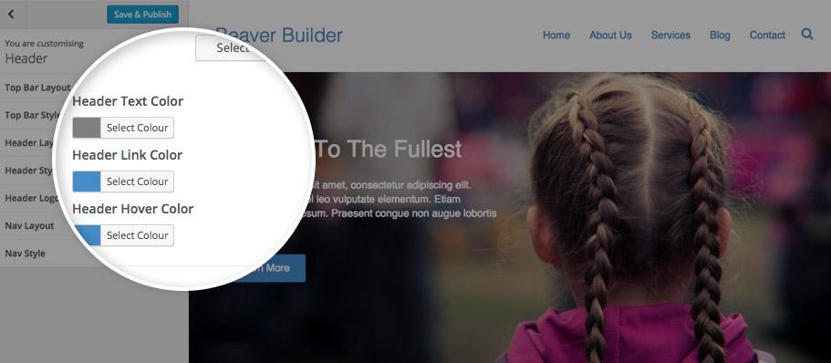 how to change text colour beaver builder lite version