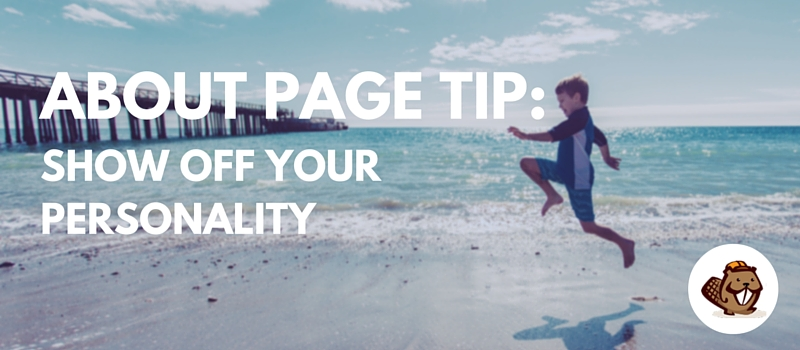 About Page Tip 2