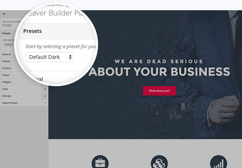Beaver Builder theme screenshot