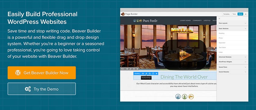 Change Logs for Page Builder, Beaver Builder Theme, and Beaver