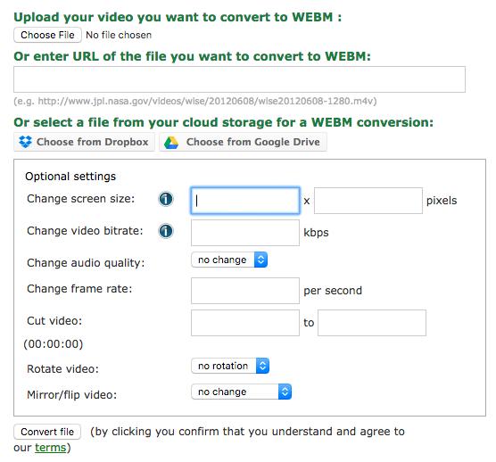 Online Convert Tool