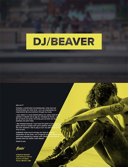 Splash Page Template | Landing Page Templates Beaver Builder