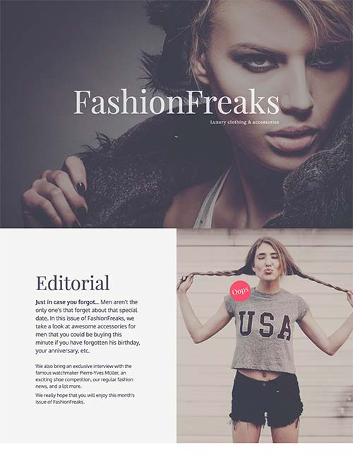 fashion-freaks-template
