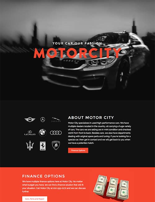 motor-city-template