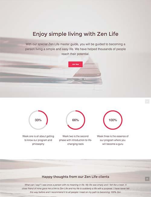 zen-life-template