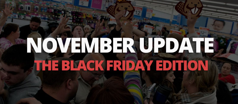 November update Black Friday edition