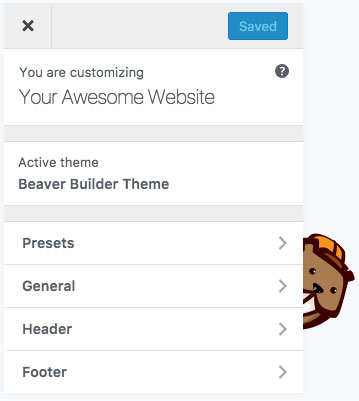 Beaver Builder Framework Theme for WordPress