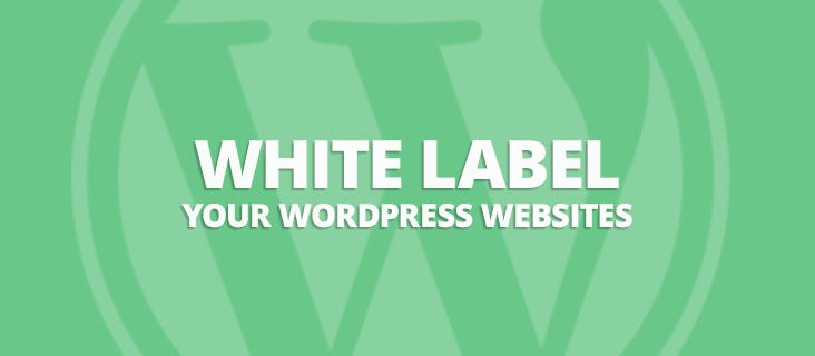 white label your WordPress website