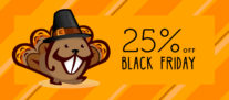 Black Friday / Cyber Monday 2018 – 25% Off Everything