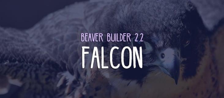 Beaver Builder 2.2 Falcon