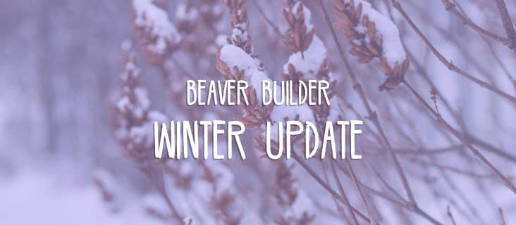 Beaver Builder Winter Update