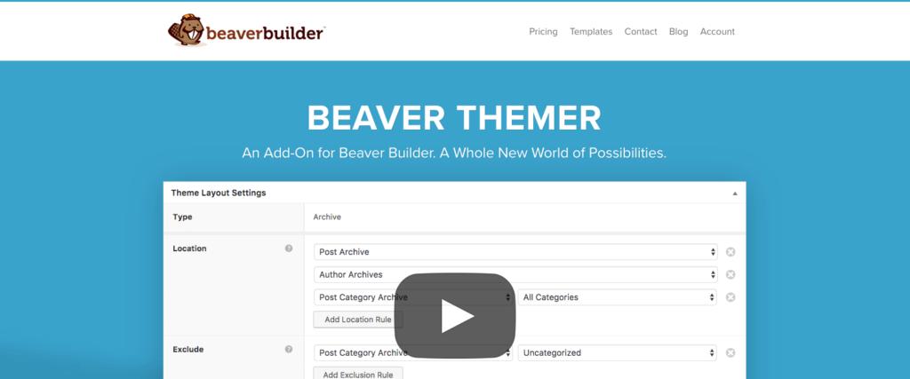 Beaver Themer Addon