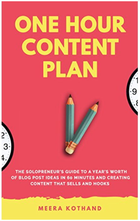The One Hour Content Plan.