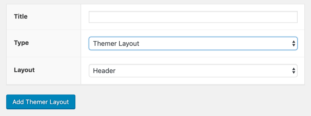 Adding a new custom header in Beaver Themer.