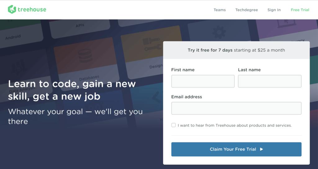 TeamTreehouse WordPress Online Training