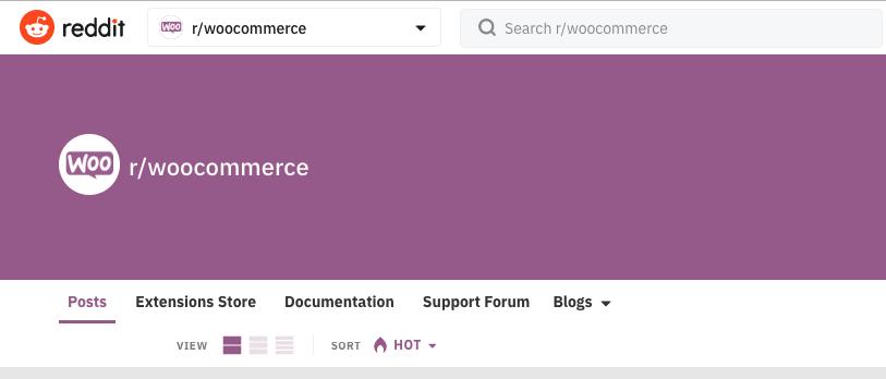Reddit WooCommerce Forum