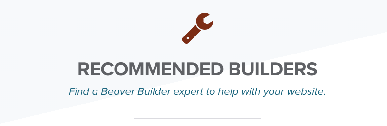 Beaver Builder WordPress Consultants