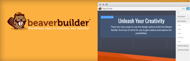 The Beaver Builder lite plugin.