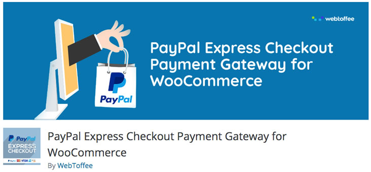 PayPal Express Checkout Payment Gateway for WooCommerceplugin
