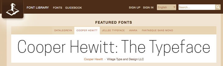 Font Library offers free commercial use fonts