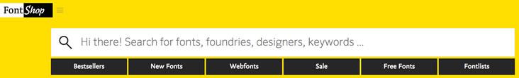 You can find web fonts at FontShop