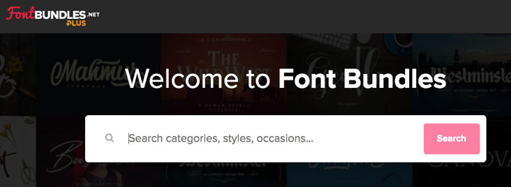 Font Bundles is a top resource for free and paid web fonts