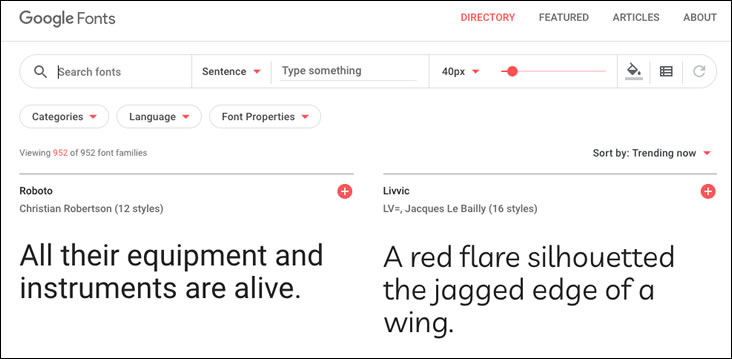Google Fonts are free for commercial websites