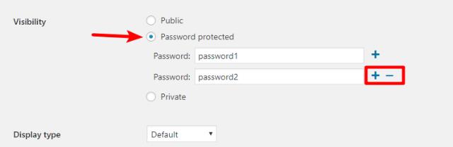 woo password protected categories