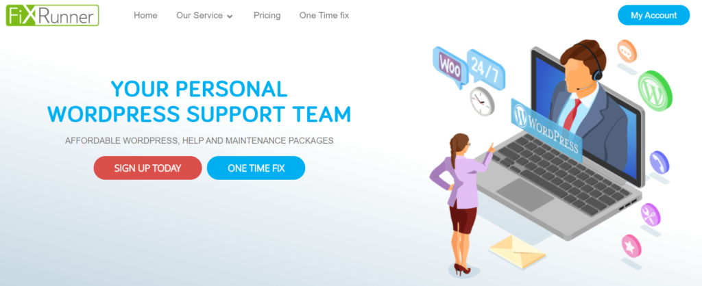 FixRunner WordPress Maintenance