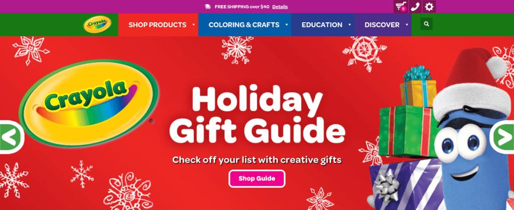 The Crayola website.