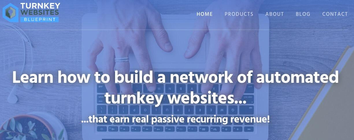 The Turnkey Websites Blueprint website.
