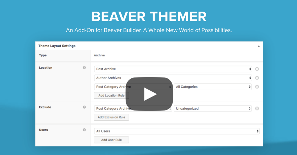 The Beaver Themer page.