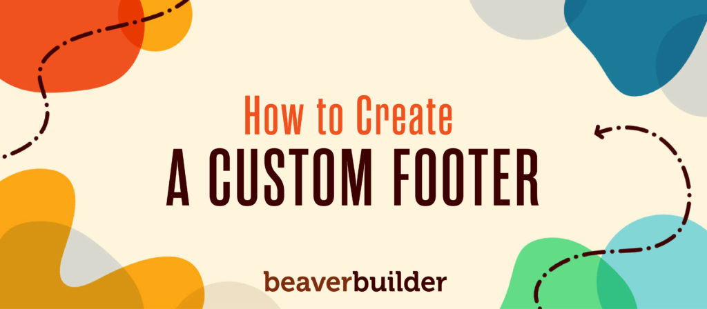 How to Create a Custom WordPress Footer