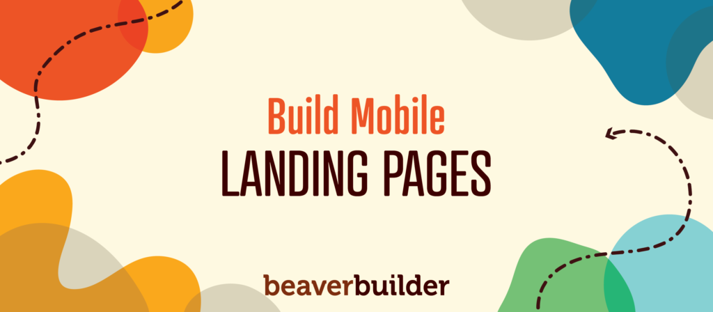 Mobile Landing Page Builder