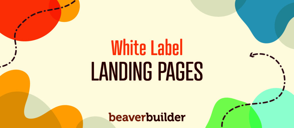 White Label Landing Page builder