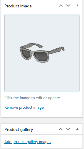 Adding a product image with WooCommerce.