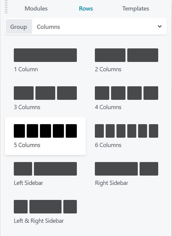 Add multi-column layouts to your page using Beaver Builder.