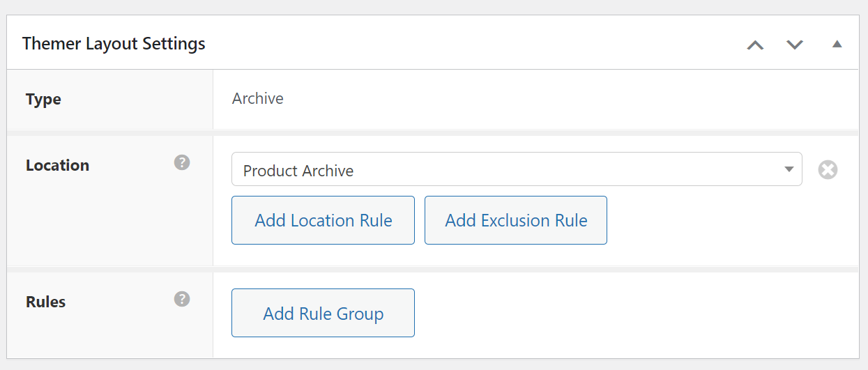 Customizing the product archive page