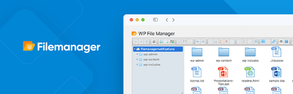 The File Manager plugin.