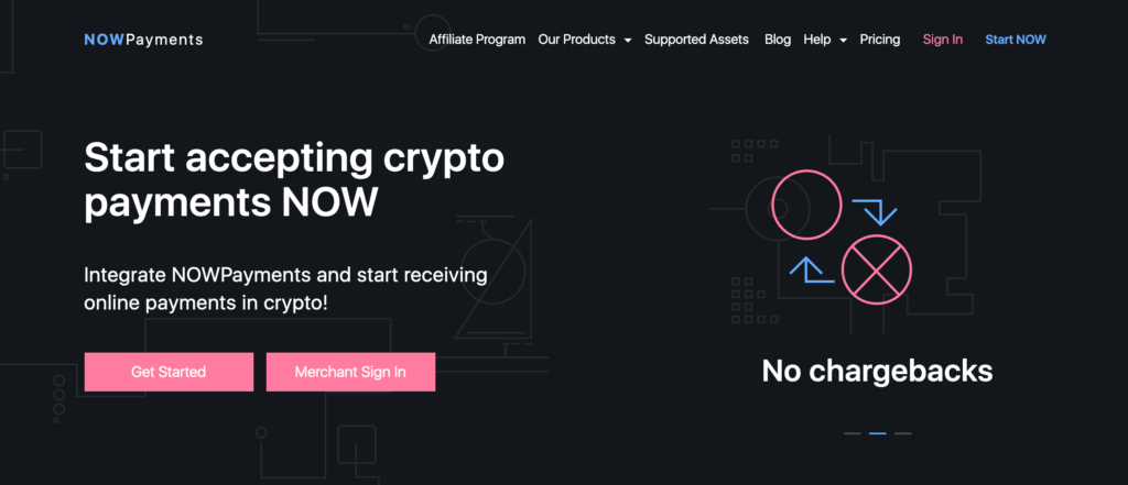 The NowPayment WordPress Bitcoin plugin.