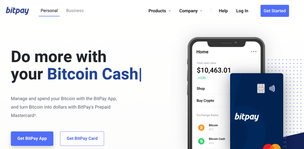 The Bitpay payment gateway.