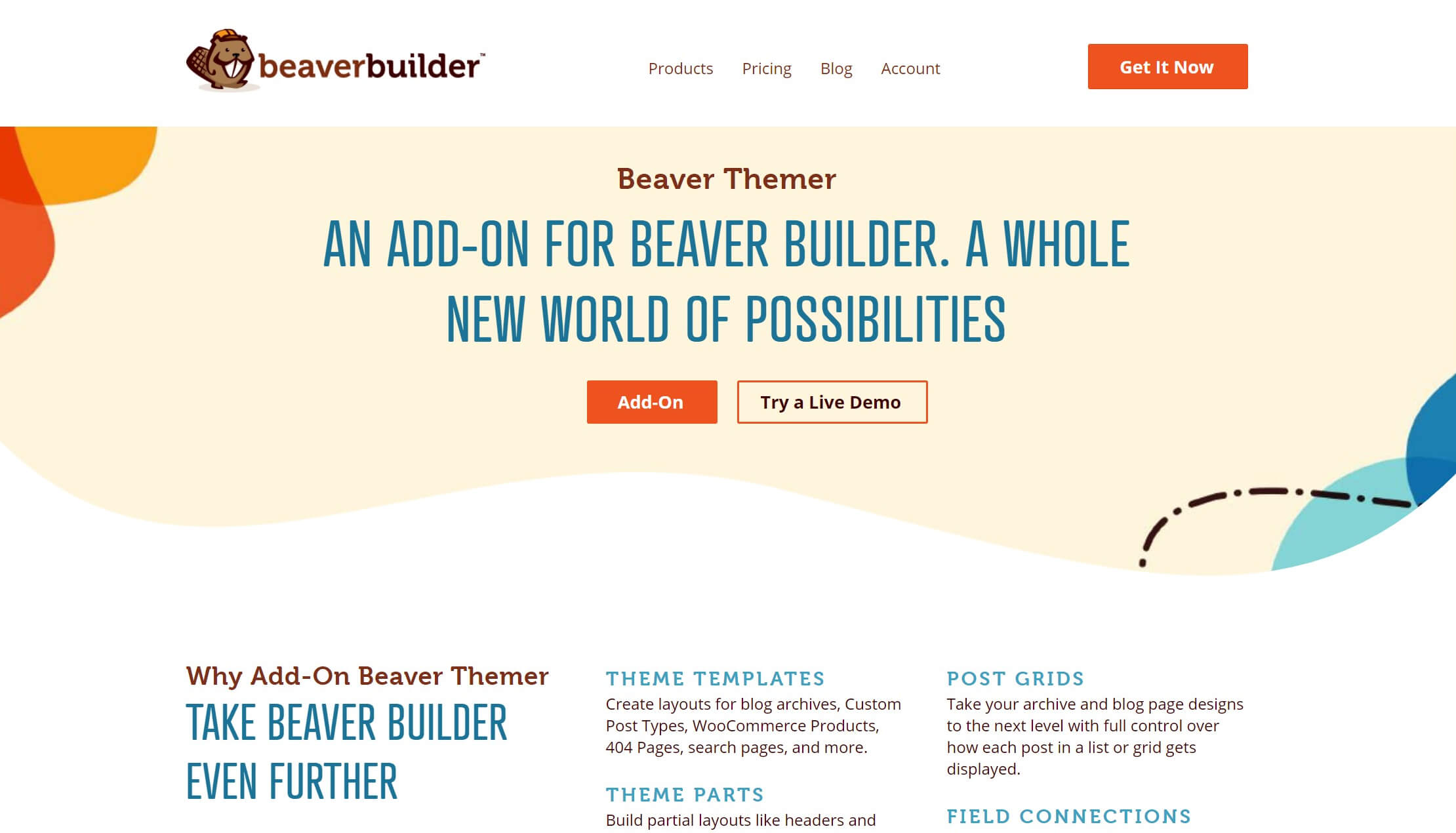 The main screen for Beaver Themer, a powerful tool for enhancing your WooCommerce page builder.