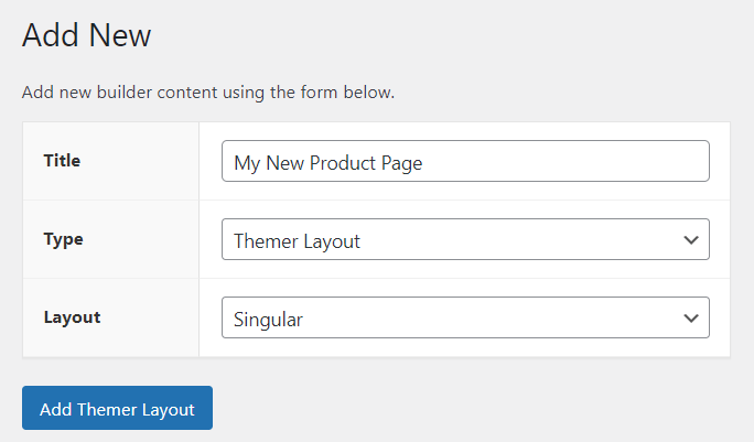 A sample Themer layout for Beaver Themer to work as a WooCommerce single product page builder.