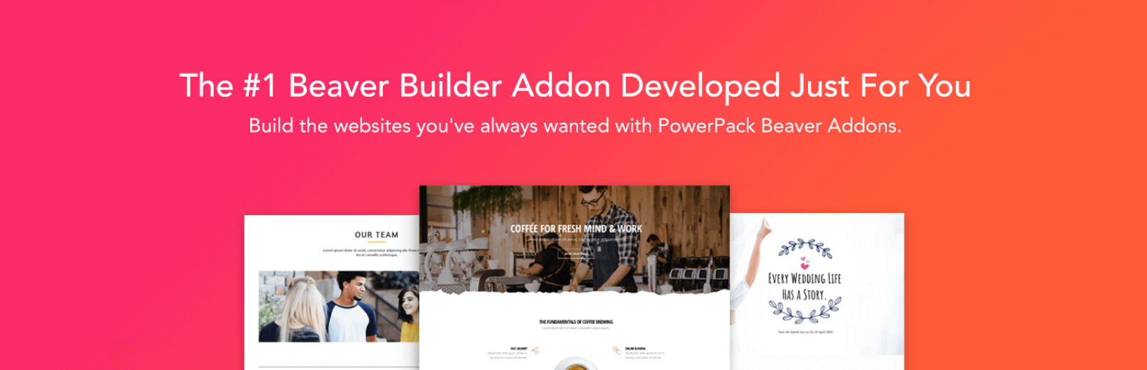 The banner for the PowerPack Beaver Addon plugin.