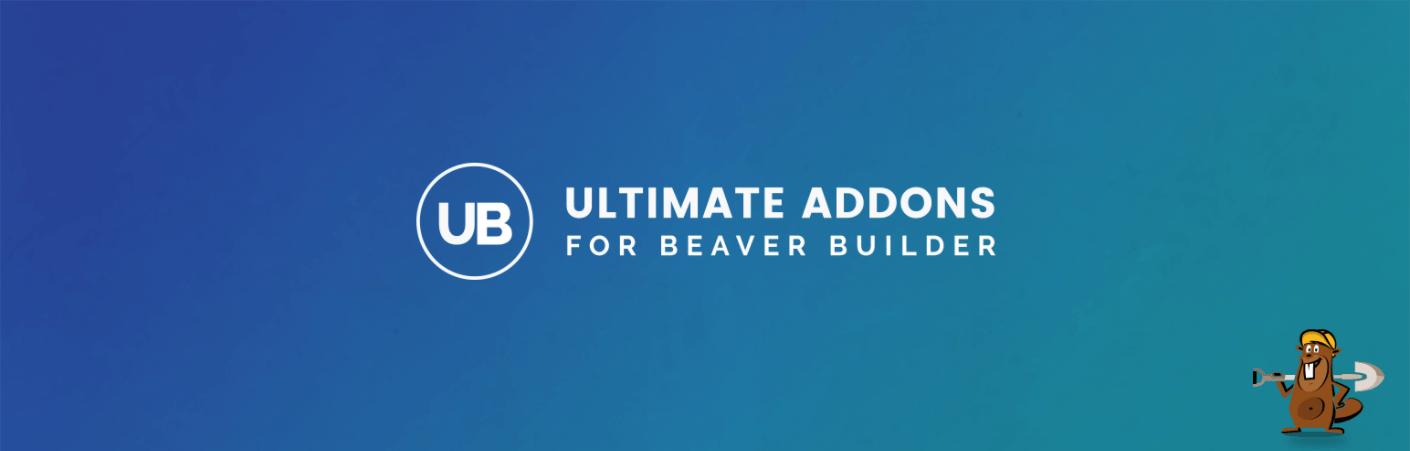 The banner logo for Ultimate Addons for Beaver Builder.