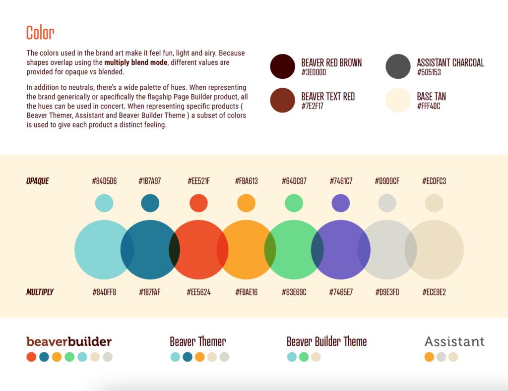 Brand Style Guide Screenshot
